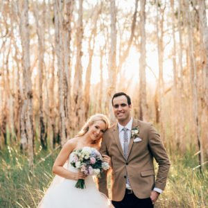 Lindsey + Byron :: Osteria Casuarina Real Wedding, Tweed Coast GARDEN Wedding Venue