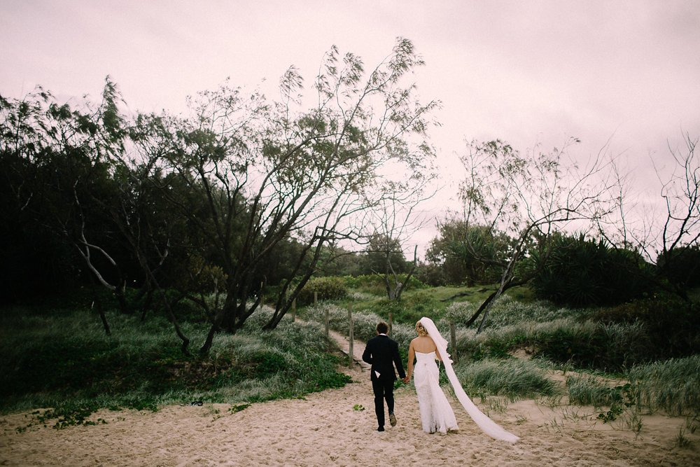 Jess and Lindsay's wedding day in Salt Village, Kingscliff