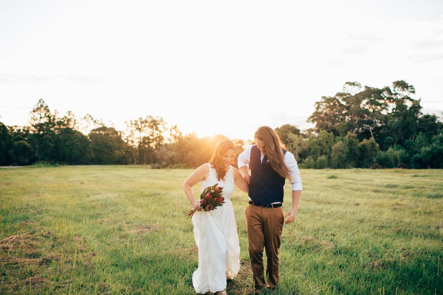 Whitney + Jed :: Osteria Casuarina Real Wedding, Tweed
