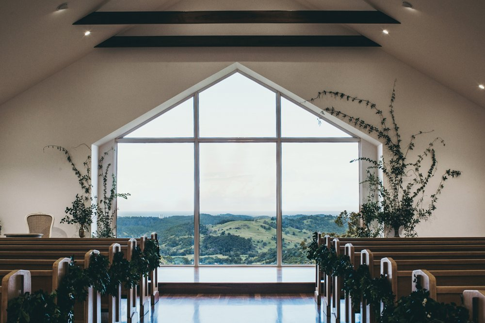 Inside photo of the Summergrove Chapel