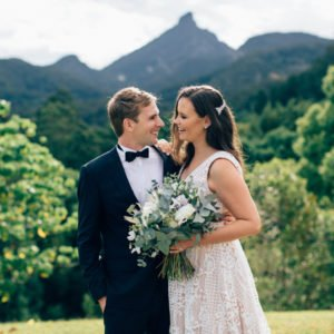 Ashleigh + Jarrason :: Mavises Kitchen Uki Mount Warning Wedding, Tweed Coast Wedding Venue