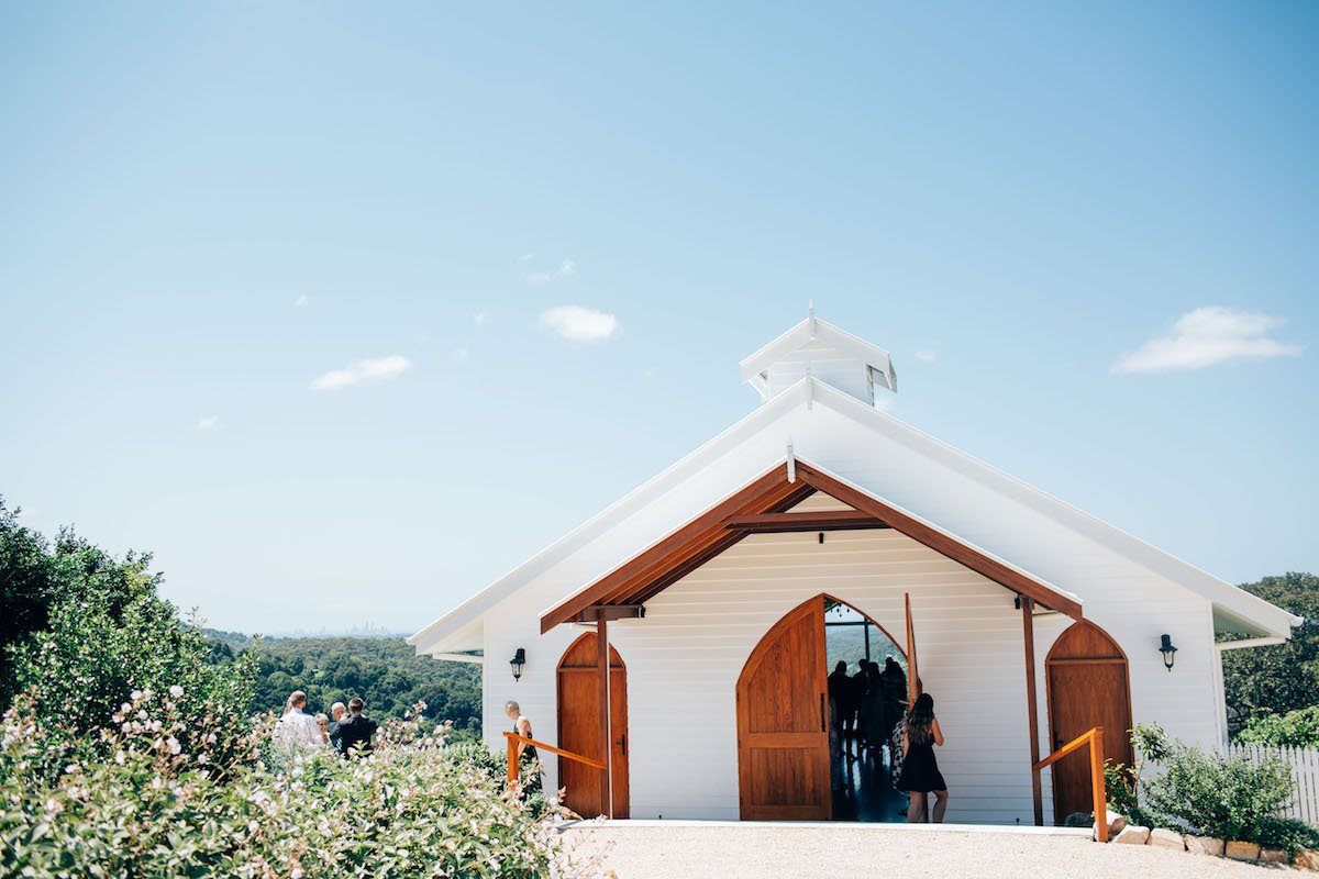 Best ceremony locations on Tweed Coast Summergrove Chapel
