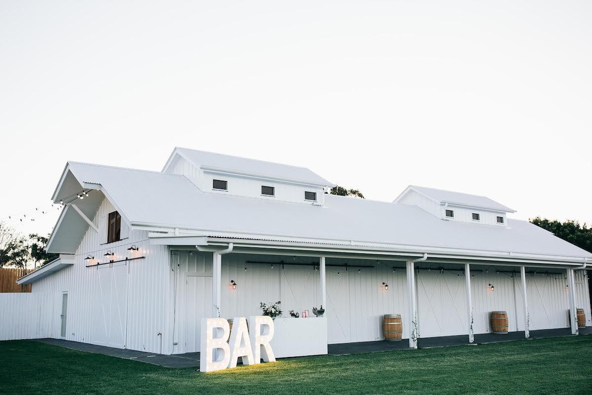 Tweed Wedding Trail Tweed Coast Wedding Venue Summergrove Estate Barn
