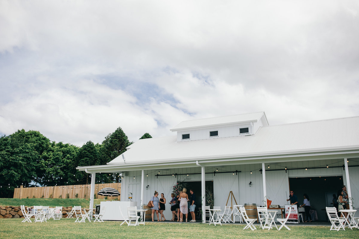 Tweed Wedding Trail Tweed Coast Weddings Summergrove Estate Barn
