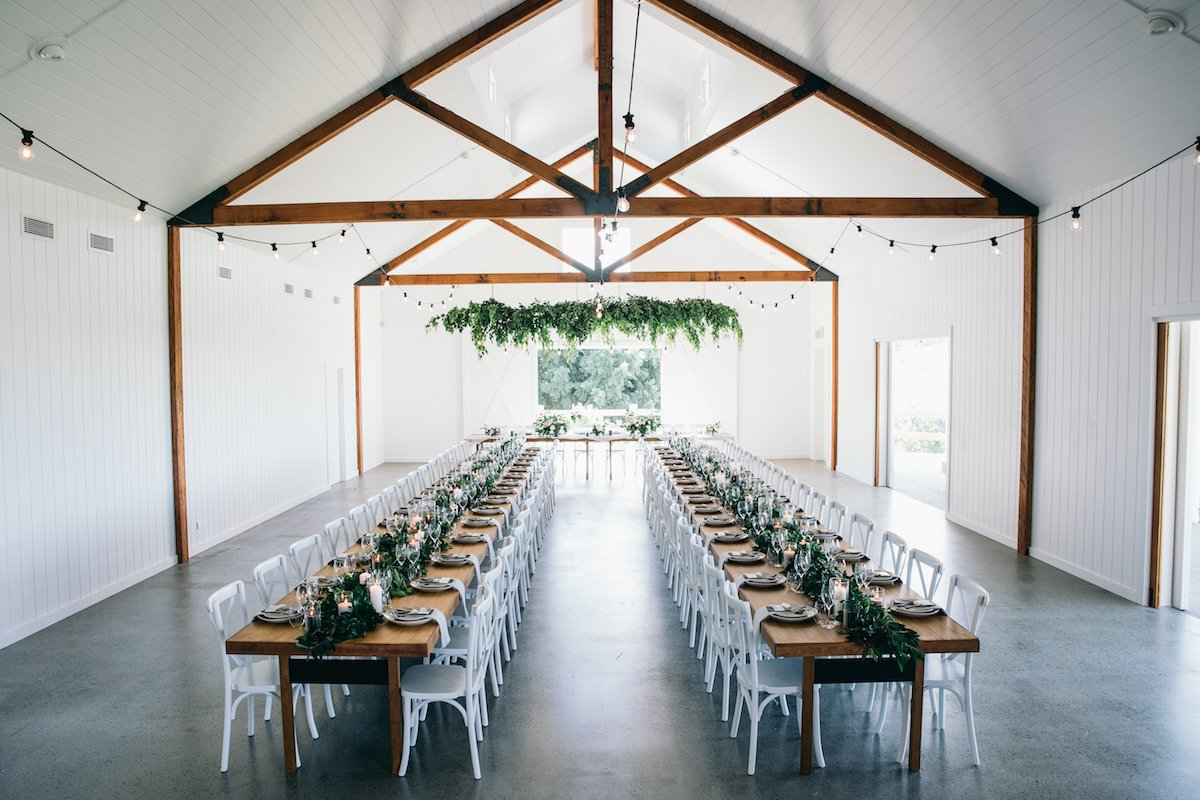 Everything You Need To Know About The Luxe New Wedding Barn