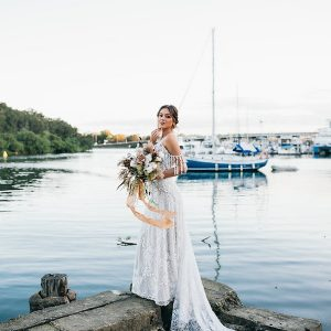 WHERE NATURE MEETS THE SEA : ANCORA STYLED SHOOT
