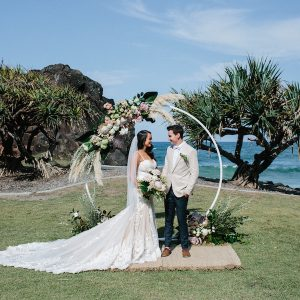 KATIE + MARK :: TROPICAL LUXE AT ANCORA