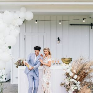 Romantic Hinterland Wedding Style