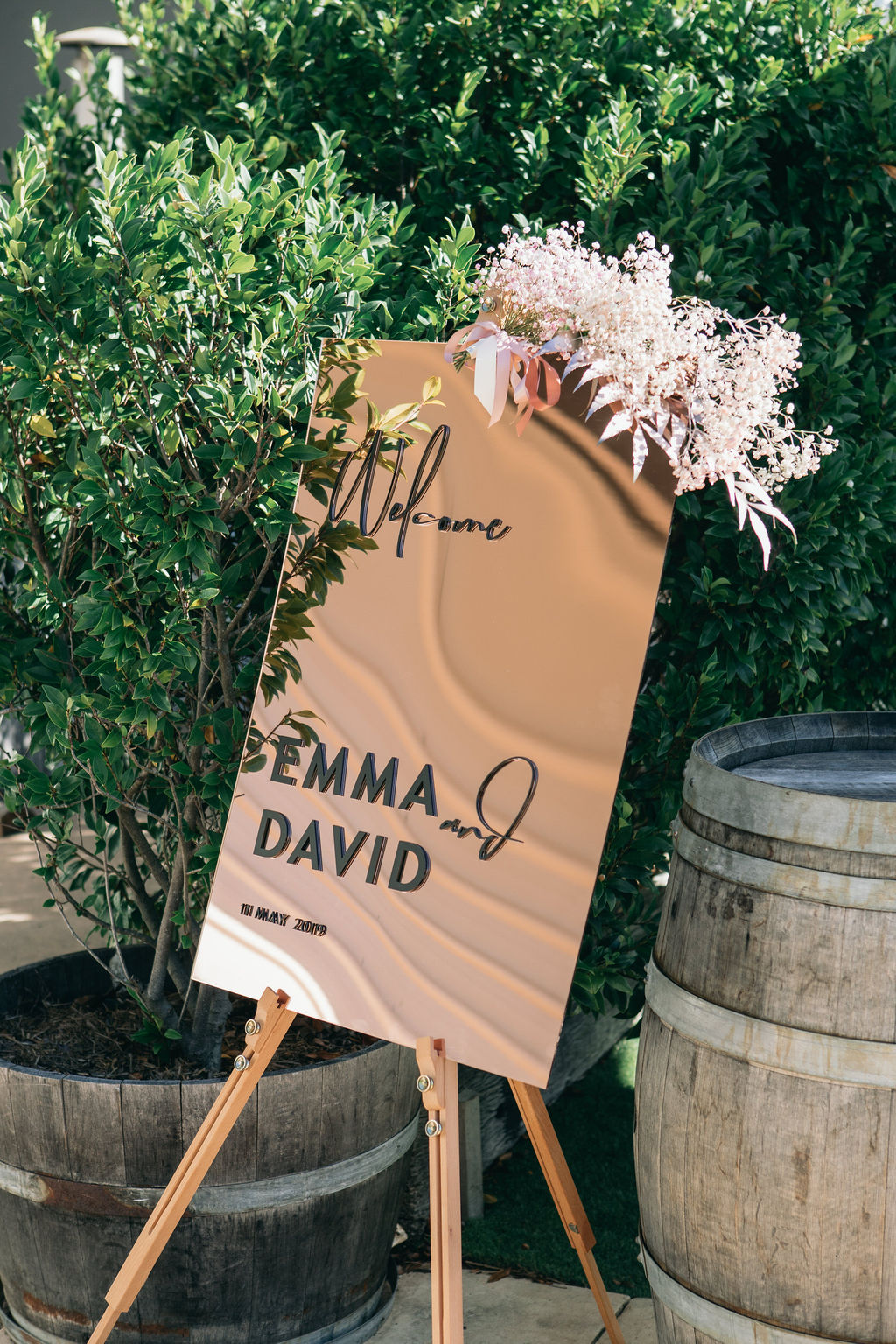 Real Wedding :: Emma + David, Osteria Casuarina | Tweed Coast Weddings