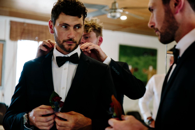Real Wedding :: Kirby + Connor, Mavis's Kitchen Tweed Coast Wedding