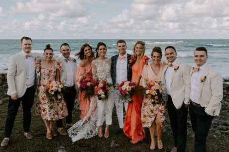 Real Wedding: Sian + Kieran, Fins Plantation House Tweed Coast Wedding Venue