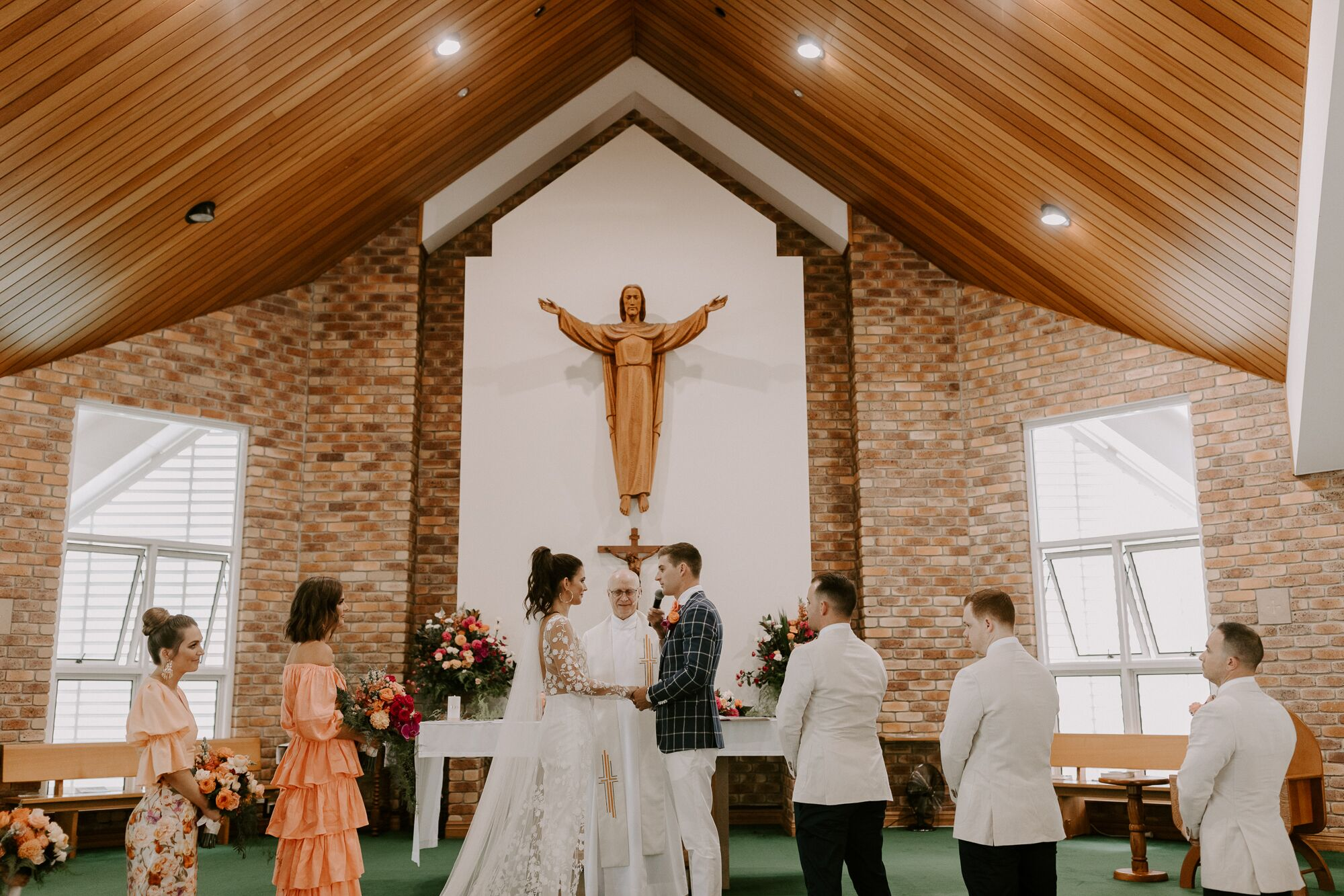 Real Wedding: Sian + Kieran, Fins Plantation House Tweed Coast Wedding Venue