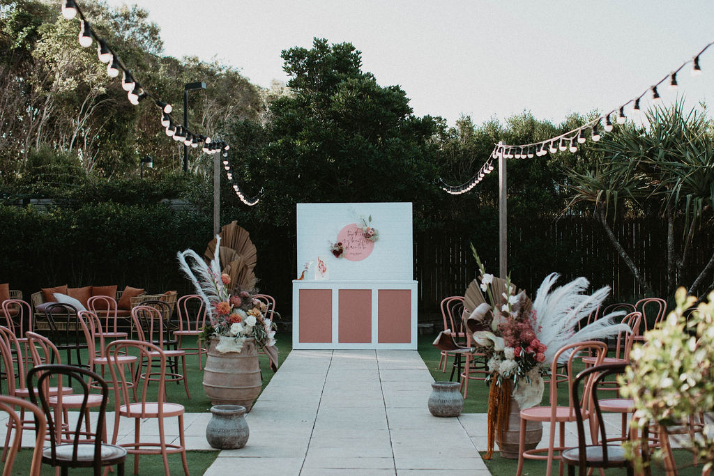 Terracotta + Blush Wedding Inspiration at Osteria