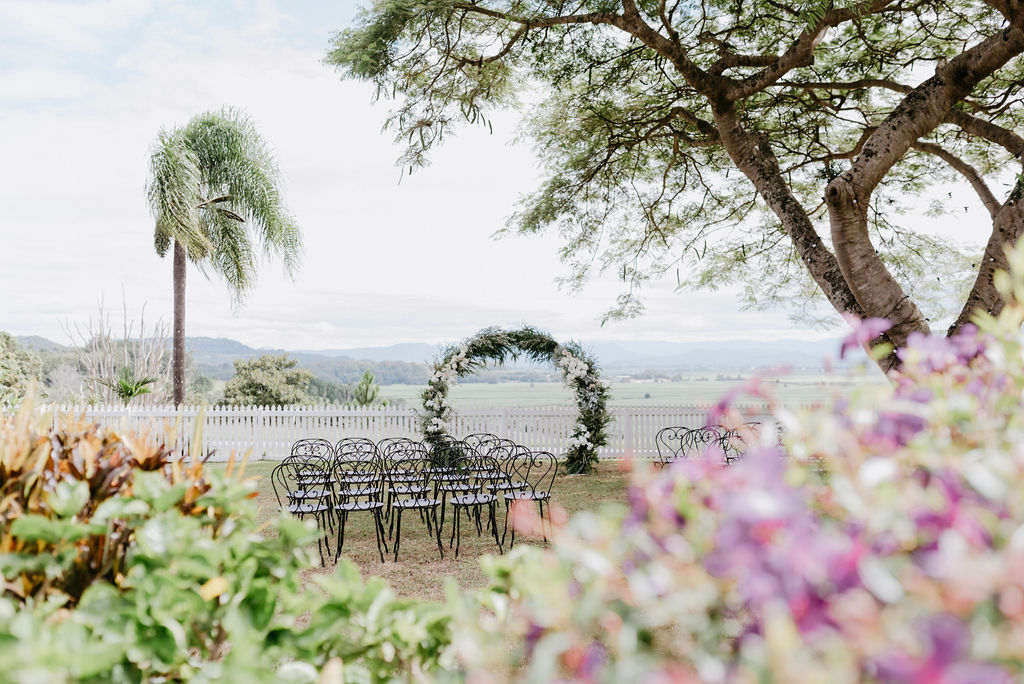 Real Wedding :: Simone + Jeremy, Fins Plantation House Tweed Coast Weddings