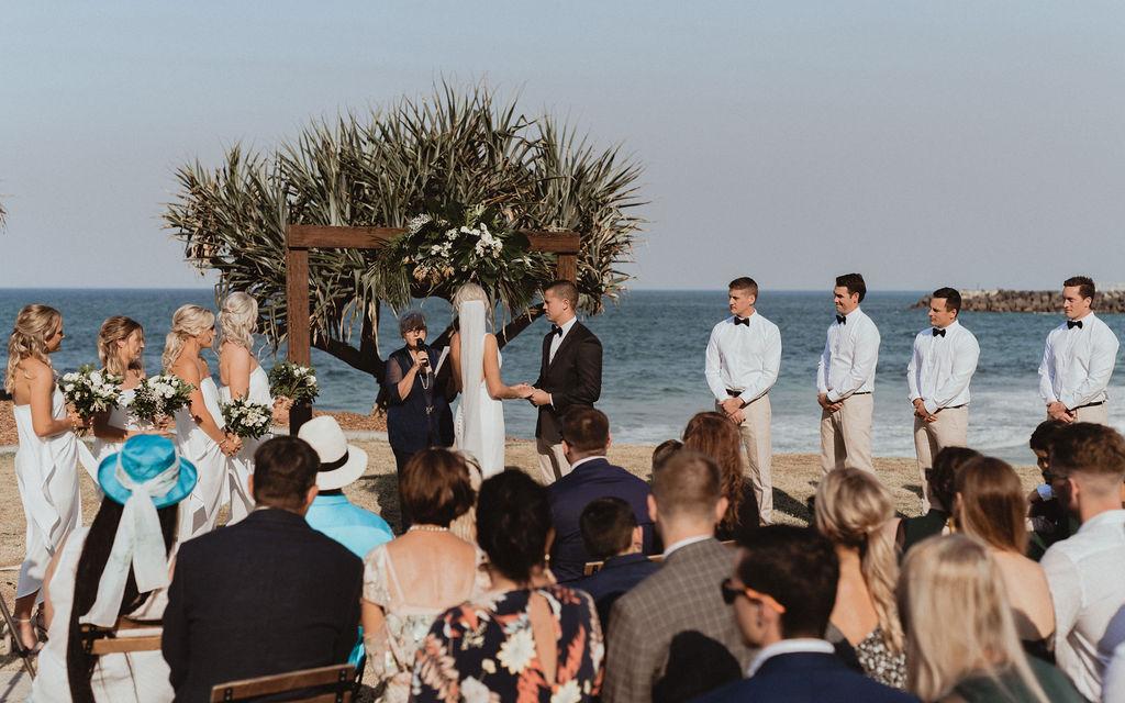 Real Wedding :: Georgia + Casey, Babalou Kingscliff Tweed Coast Wedding