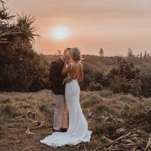GEORGIA + CASEY :: SIMPLE RELAXED WEDDING AT BABALOU, KINGSCLIFF