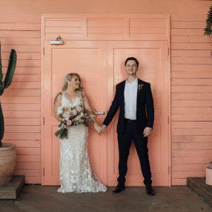 JOCELYN + JESSE :: RELAXED OSTERIA GARDEN WEDDING