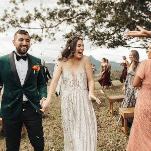Caitlin & Jake :: A Rainbow Fiesta at Midginbil Eco Resort